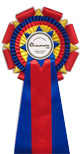 award ribbons rosettes